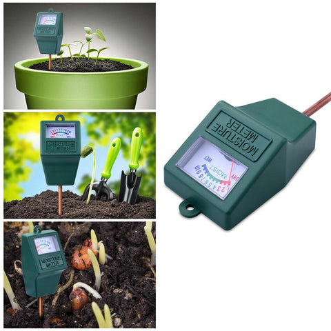Indoor Outdoor Soil Moisture Monitor and Water Hygrometer Sensor for Lawn