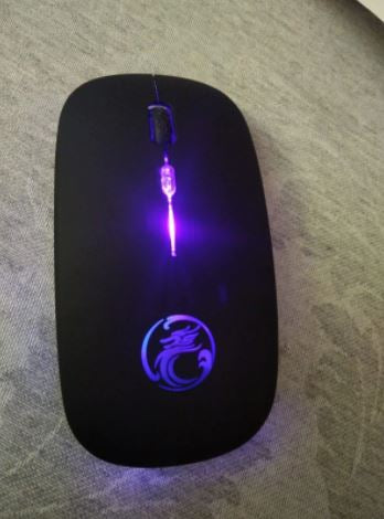 rgb silent gamer friendly laptop computer mouse
