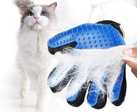 fur removal gloves for furry shedding cats and dogs