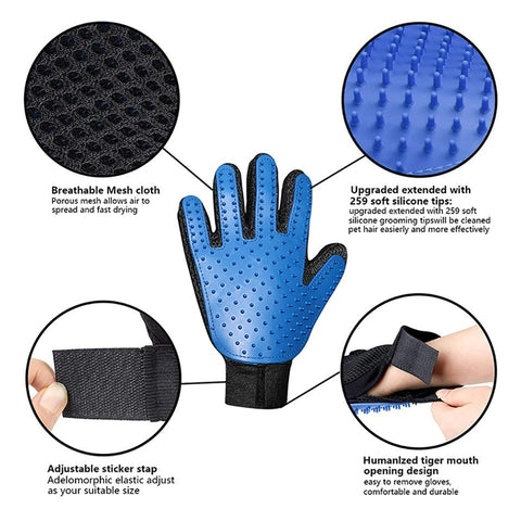 pet hair removal gloves benefits and feature