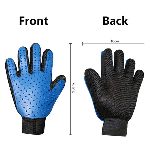 pet hair removal gloves specifications and size