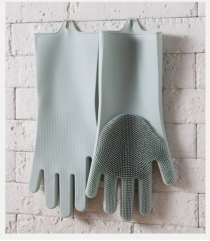 super easy to clean sterlized kitchen cleaning gloves