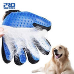 Dog and Pet Hair Removal Glove with Massage and Cleaning Brush Action - CharmingWares