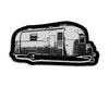 Airstream Die Cut Sticker