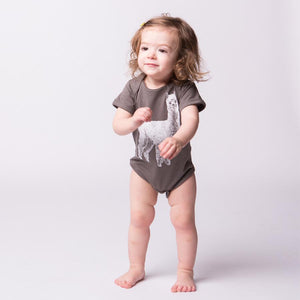 Alpaca Baby Bodysuit-Baby-Counter Couture