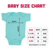 Size chart for Baby Bodysuit