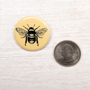 Bee Button Pin-Counter Couture