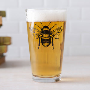 Bee Pint Glass-Counter Couture