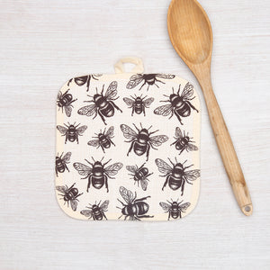 Bee Potholder-Counter Couture