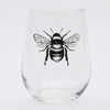 Bee Stemless Wine Glass-Counter Couture