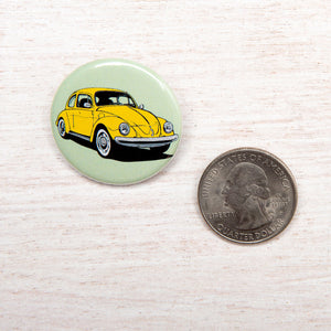 Beetle Button Pin-Counter Couture