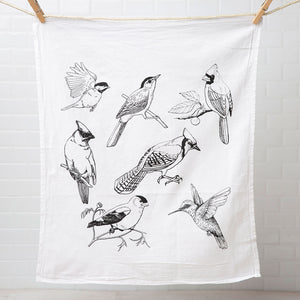 Birds Tea Towel-Counter Couture