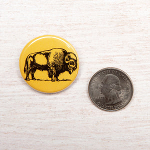 Bison Button-Counter Couture