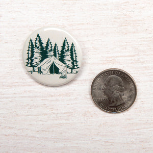 Camping Button-Counter Couture