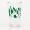 Camping Pint Glass-Counter Couture