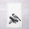 Chickadee Flour Sack Towel