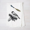Chickadee Flour Sack Towel-Counter Couture