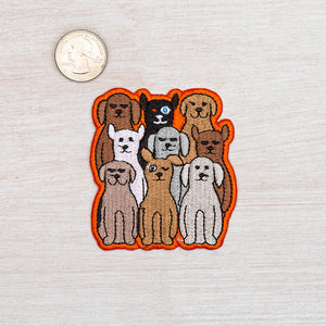 Dog Iron On Patch-Counter Couture