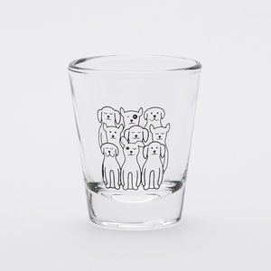 Dogs Shot Glass-Counter Couture