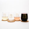 Dogs Stemless Wine Glass-Counter Couture