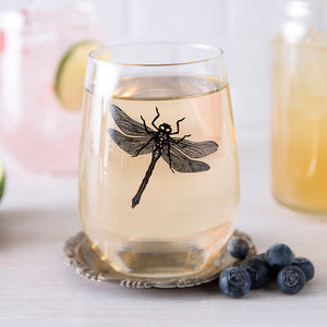 Dragonfly Wine Glass-Counter Couture