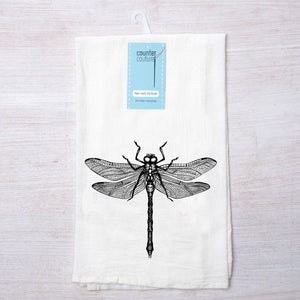 Dragonfly Tea Towel-Counter Couture