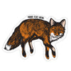 Sticker - Fox (S-ND-fox)