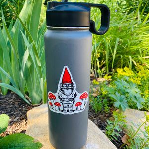 Gnome Sticker-Counter Couture