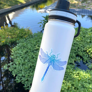 Dragonfly Die Cut Sticker-Counter Couture