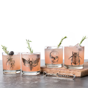Macabre Rocks Glass Set-Counter Couture