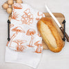 Mushroom and Herb Towel Set of 2