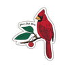 Sticker - Cardinal (S-ND-cardinal)