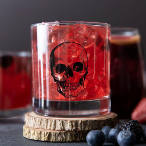 Skull Rocks Glass-Counter Couture