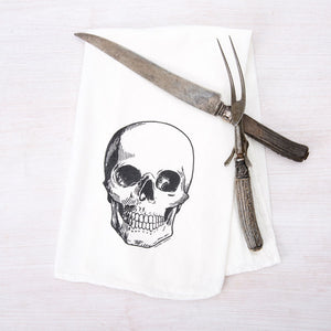 Skull Flour Sack Towel-Counter Couture