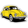 VW Beetle Sticker