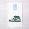 Woodie Wagon Flour Sack Towel