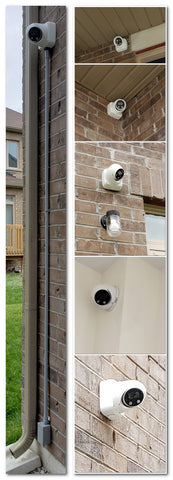 Camera Install with Conduit