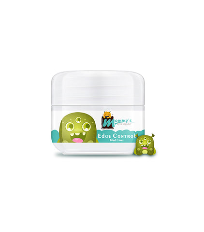 Mommy'S Little Monster Private Label No Residue Strong Hold Edge Control Set For Baby And Children