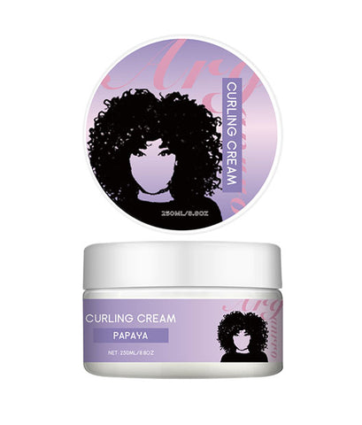 Private Label Custom Hair Curling Defining Cream Use For Finger Styling, Two Strand Twists And Coils And Spirals