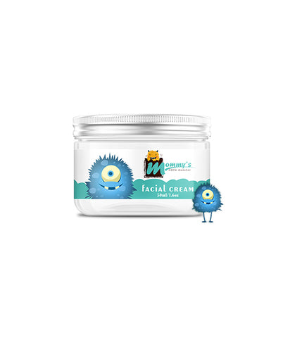 Mommy'S Little Monster Sulfate Free Gentle And Non-Greasy Baby Facial Cream Soften And Protect Skin