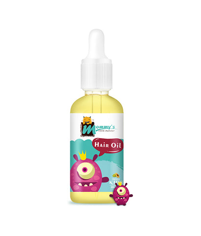 Mommy'S Little Monster Sultfate Free Cruetly Free Kids Baby Hair Growth Oil For Moisture And Nourish Scalp