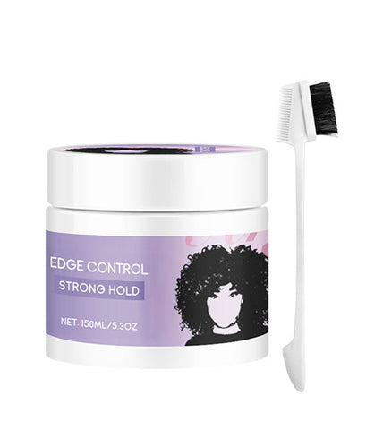 Arganrro Custom Label No Flaking Strong Hold Papaya Scent Edge Control For African American Natural Hair