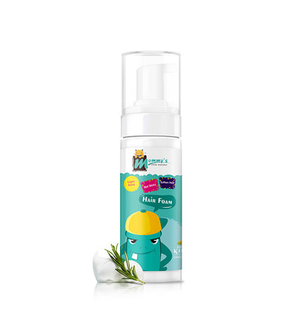 Mommy'S Little Monster Private Label Children Lightweight Non Sticky Foam Wrap Lotion For Hair