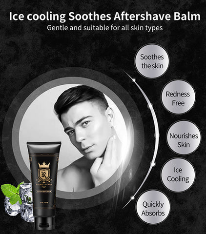 Softens Skin Beard Barber After Shave Balm Oem