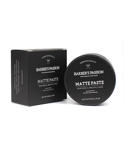 Private Label Hair Care Mens Hair Clay Organic Modelling Clay Thickening Matt Finish Non Sticky