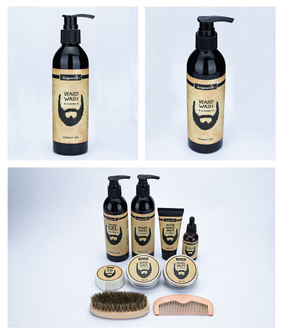 Private Label Men Natural Beard Wash Shampoo Refreshing Moisturizing Smoothing