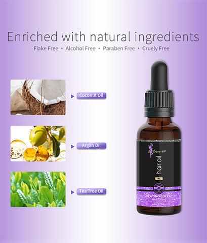 Private Label Hair Care Essential Oil Natural Organic Hair Oil For Growth Moisturizing And Smoothing