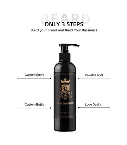 Private Label Beard Conditioner Repair Activate Beard Follicles Nourishing Scalp Deep Conditioning Beard Care Products