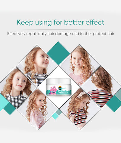 Mommy'S Little Monster Private Label Hair Curl Defining Cream For Children Defines Curls And Provides Soft Hold