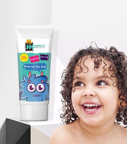 Mommy'S Little Monster Private Label Alcohol Free Natura Hair Styling Gel For Kids And Children Hair